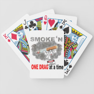 ONE DRAG AT ATIME_1 BICYCLE PLAYING CARDS