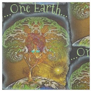 One Earth Tree Of Life Fabric
