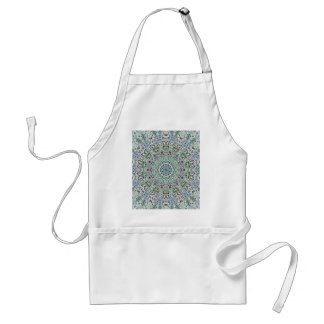 One Electric And Glowing Fantasy Pattern Standard Apron