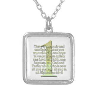 ONE  Ephesians 4:4-6 BIBLE SCRIPTURE Jewelry