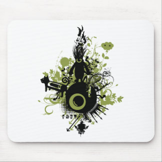 one eye brand mouse pad