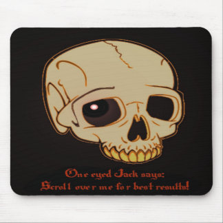 One eyed Jack: Best Results Mouse Pad