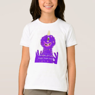 One Eyed One Horn Purple People Eater T-Shirt