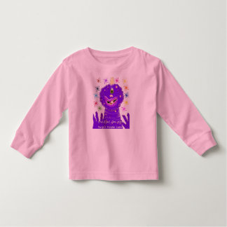 One Eyed One Horn Purple People Eater Toddler T-Shirt