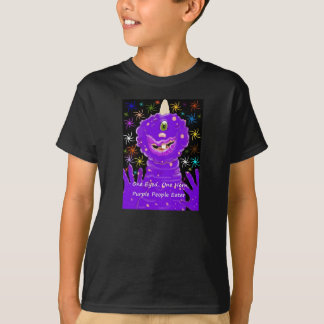 One Eyed, One Horned, Purple People Eater. Tee Shirt