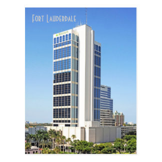 One Financial Plaza, Fort Lauderdale, Florida Postcard