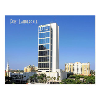 One Financial Plaza, Fort Lauderdale, Florida, U.S Postcard