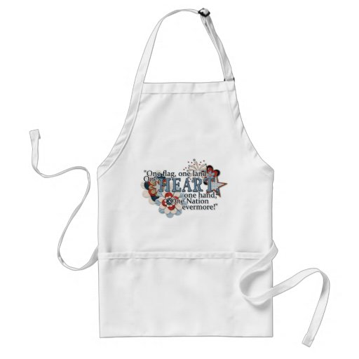 One Flag, One Heart Apron