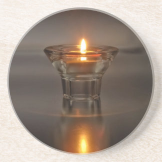 One Flame Drink Coaster