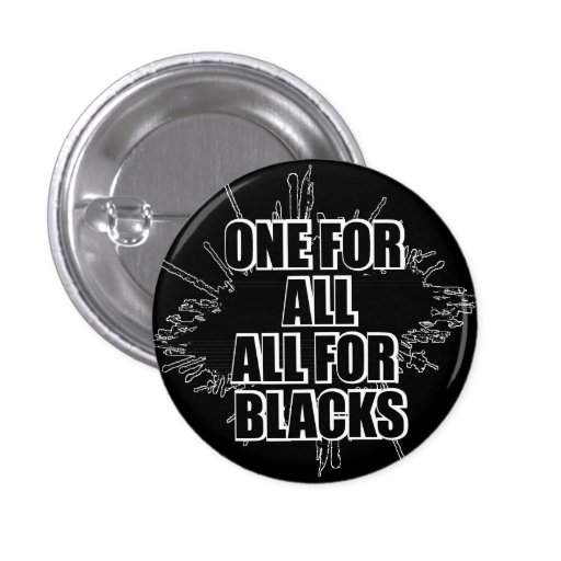 One For All All For One Rugby Button