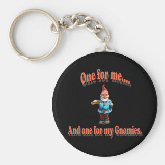 One For My Gnomies Key Ring