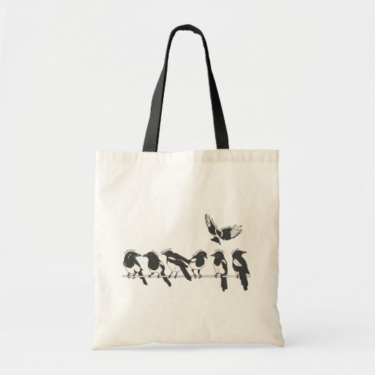 One for sorrow, Two for joy Tote Bag