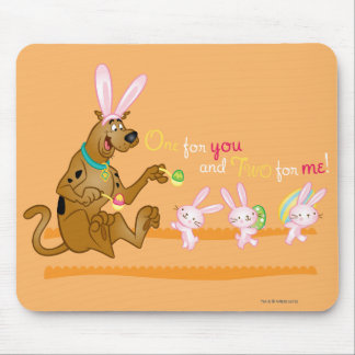 One For You Two For Me Mouse Mat