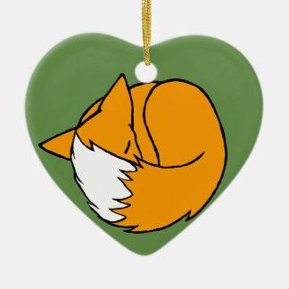 One Fox Christmas Ornament