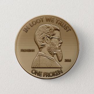 One Froken! 6 Cm Round Badge