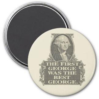 One George 7.5 Cm Round Magnet