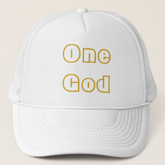 One God Trucker Hat