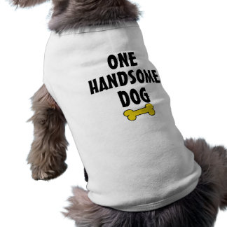 One Handsome Dog Sleeveless Dog Shirt