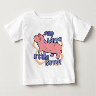 One Happy Hippo Baby T-Shirt