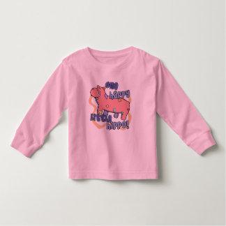 One Happy Hippo Child's Long Sleeve Shirt
