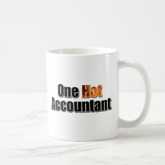One Hot Accountant Coffee Mug