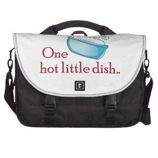 ONE HOT LITTLE DISH LAPTOP COMPUTER BAG