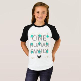 """One Human Family"" humanitarian shirt"