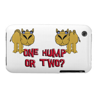 One Hump or Two Schnozzle Camel Cartoon Case-Mate iPhone 3 Case