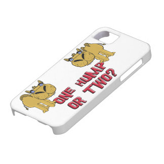 One Hump or Two Schnozzle Camel Cartoon iPhone 5 Covers