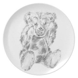 One Hungry Bear Party Plates