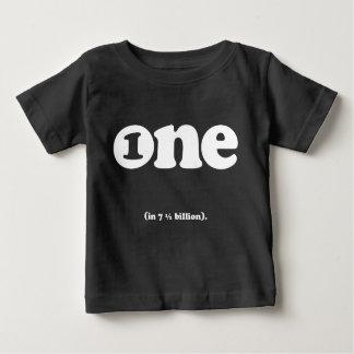 one in (7.5) billion birthday tee