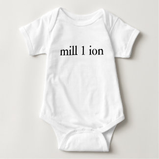 One in a Million Baby Shirt