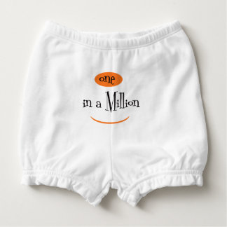 ONE IN A MILLION CARTOON  Diaper Bloomers 6-12M Nappy Cover