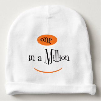 ONE IN A MILLION Cotton Beanie Baby Beanie