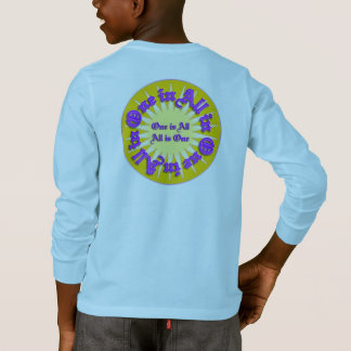 """One is All"" Kid's Long Sleeve T-shirt"