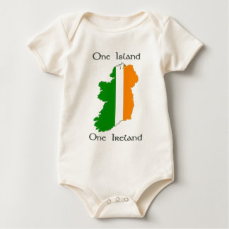 One Island - One Ireland Baby Bodysuit
