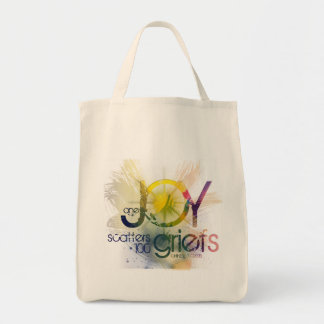 one joy scatters a hundred griefs tote bag