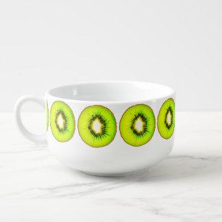 one kiwi customizable soup mug