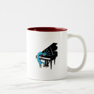 One Kokopelli #124 Two-Tone Coffee Mug