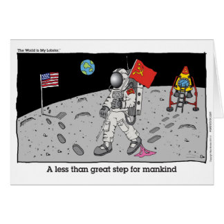 One less than giant step for mankind cards