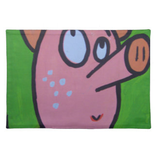 One little pig placemat