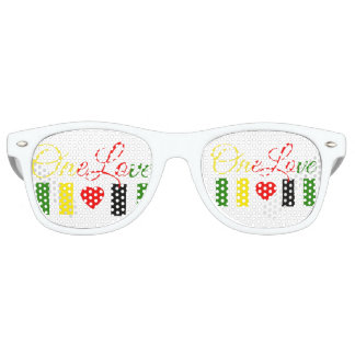 One Love Adult Party Shades