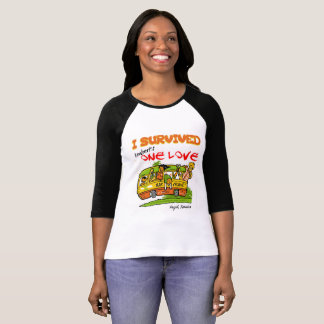 One Love Bus Bar Crawl Women's Henley Tee