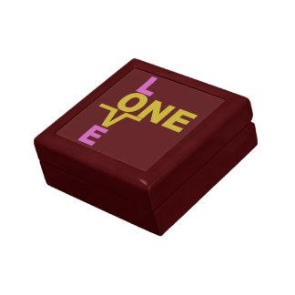 One Love custom gift / jewelry box