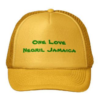 One Love Negril Jamaica Cap