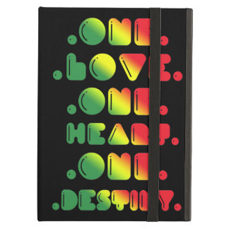 ONE LOVE, ONE HEART, ONE DESTINY iPad AIR COVER
