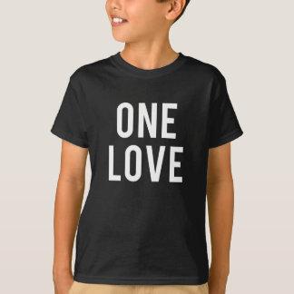 One Love Print T-Shirt