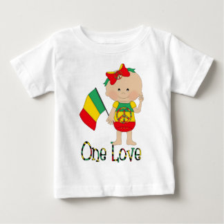 One Love Rasta Baby 2 Baby T-Shirt