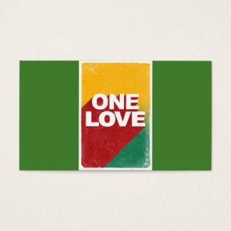 One love rasta business card