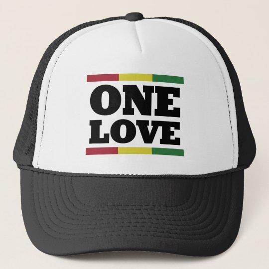One love - Reggae - Rastafara Cap